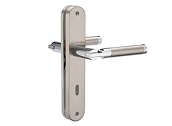 SSS stainless steel internal door handles plate door handle