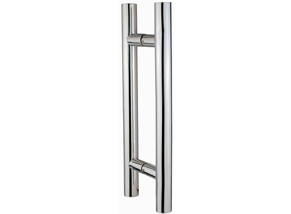 High quality suppliers 304 stainless steel glass door handles