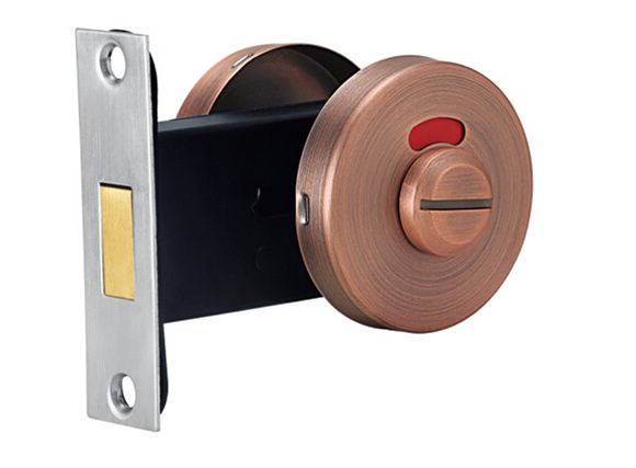 zinc alloy Arrow Occupancy Indicator Deadbolt (Satin AC)