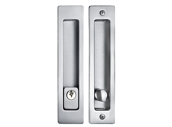 SN zinc alloy square endeavour sliding door lock