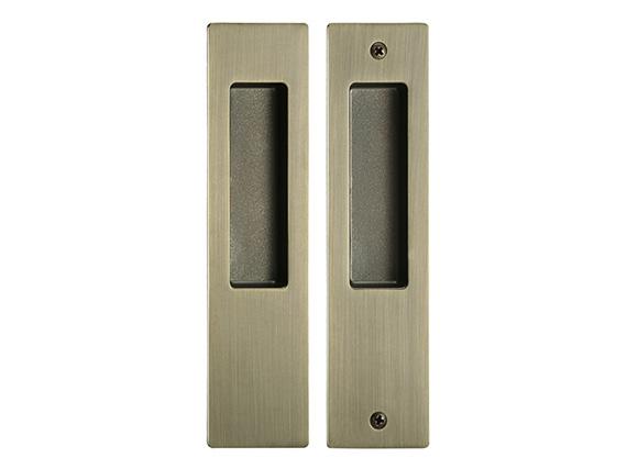 AB zinc alloy square everbilt sliding door lock