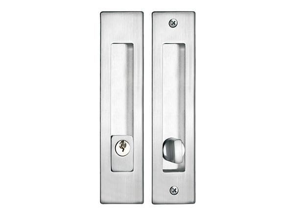 SN zinc alloy square fix sliding door lock