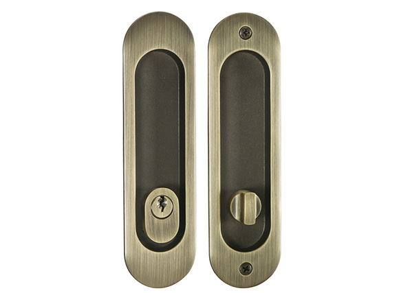 industrial sliding door lock