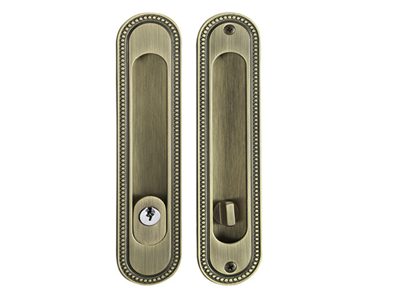 AB zinc alloy dowell sliding door lock parts
