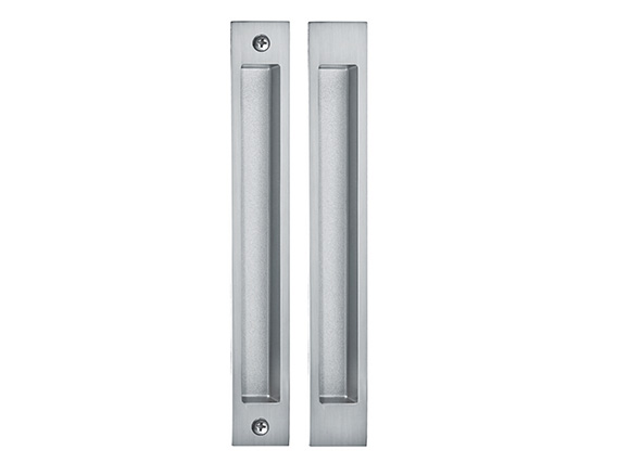 Zinc Sliding Door Handle Lock For Bathroom From China Factory Euro Cylinder