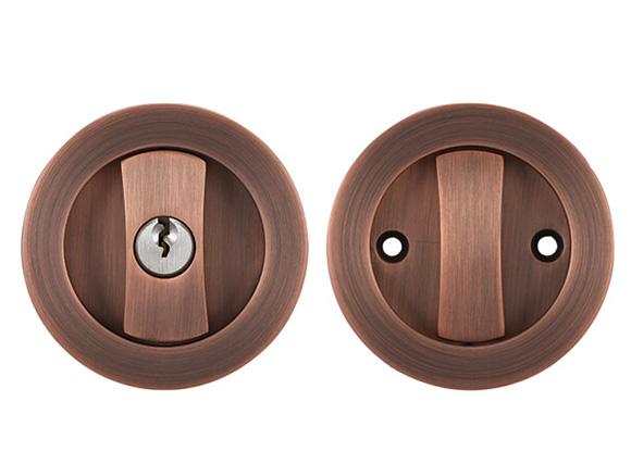 American - style indoor mute magnetic door lever lock security wooden sliding door lock For Hotel/Apartment