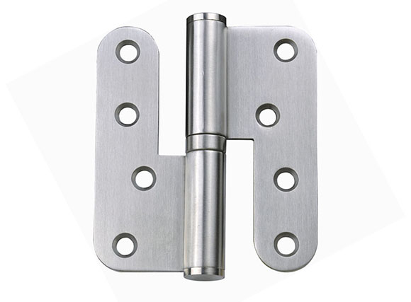 304 stainless steel L door hinge with round corner