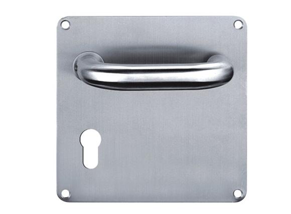 304 Stainless Steel Door Handle, Pull and Push Plate Door Handle with Screws