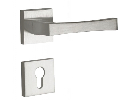 European Zinc Alloy Door Handle ,Popular Kitchen Door Handles SN Plated