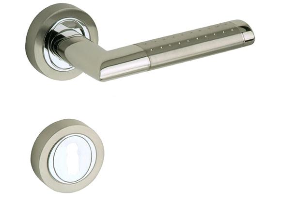 zinc alloy door handle lock Anti-theft door lock security Dual Latch for Bedroom Bathroom Furniture Gate Lock