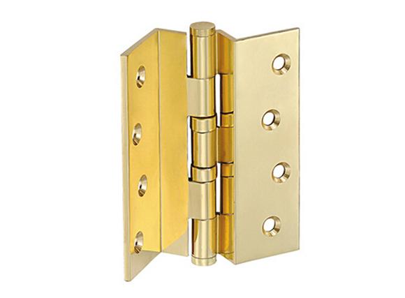 4 inch flat Head Brass Bending Door Hinges