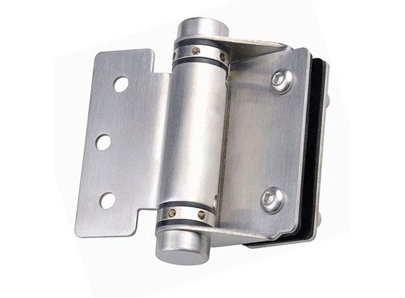 Stainless Steel Spring Hinge Glass To Round Post Gate Hinge/floor Hinge/door Hinge