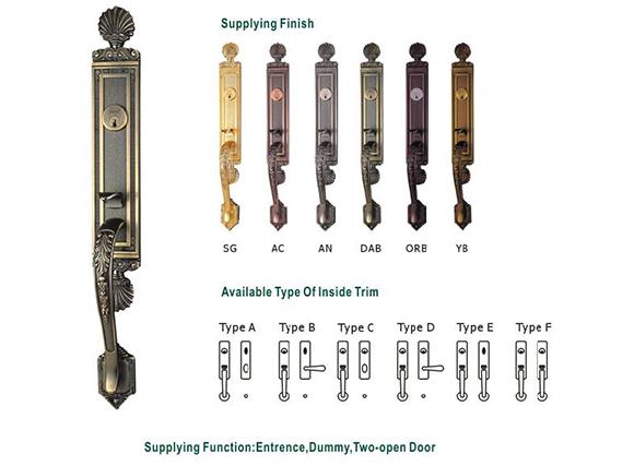 Mortise Door Lock Set
