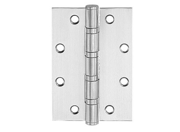 American style corner door hinge