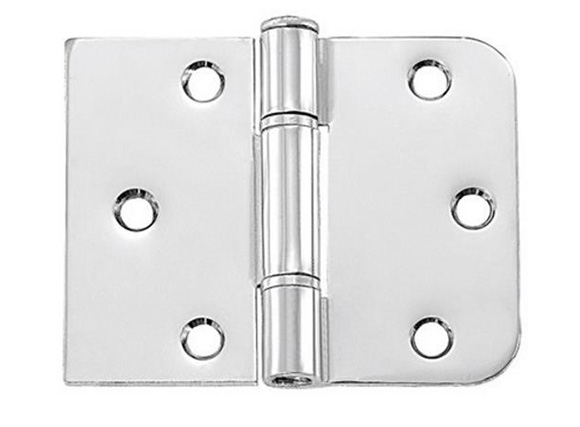 Round and Square Corner door hinges