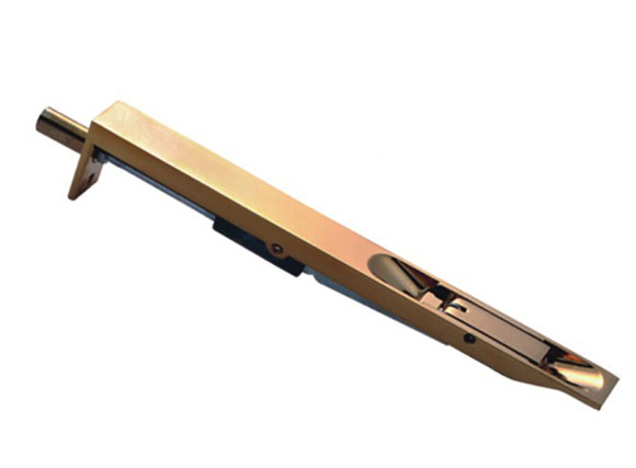Flush bolt for metal door