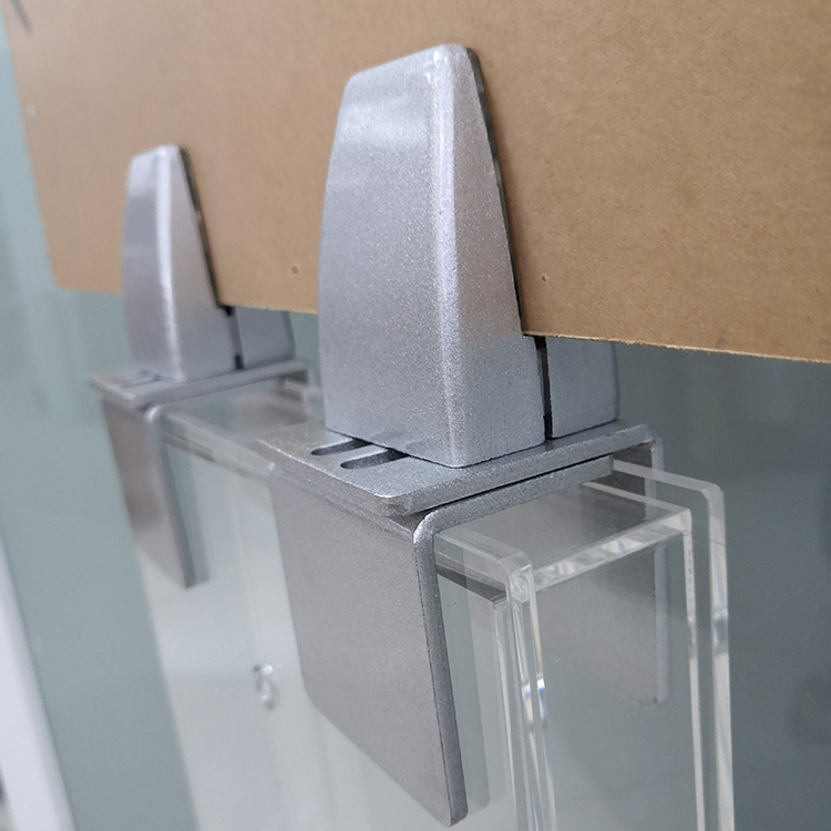 Clamps for Clear Desk Panel Guard Stand