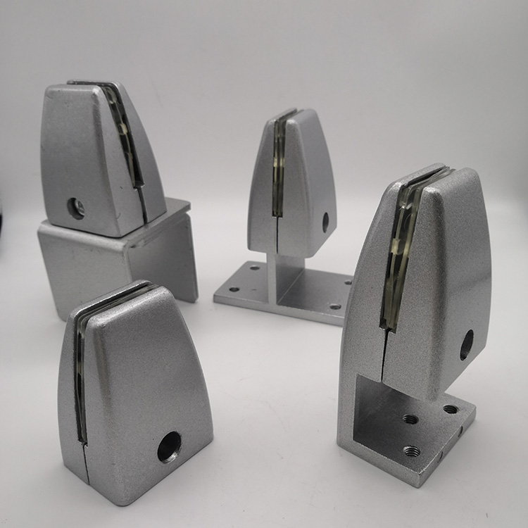 silver protective panel clamp